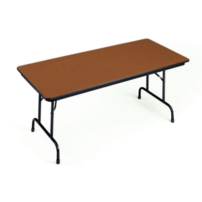 "Adjustable Height Folding Table 30"" x 96"""
