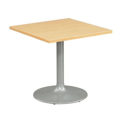 30 Square Breakroom Table With Pedestal Base   44588 And More Lifetime  Guarantee