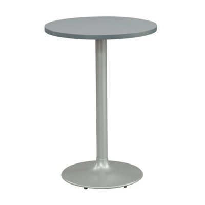 "30"" Round Cafe Height Table with Pedestal Base"