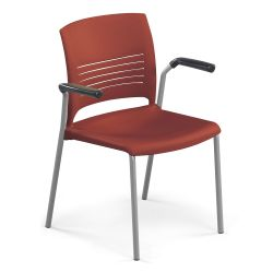 Strive Stack Chair with Arms