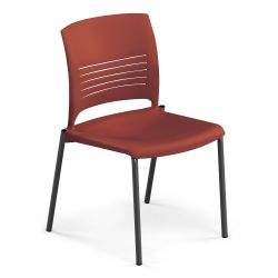 Armless Poly Stack Chair