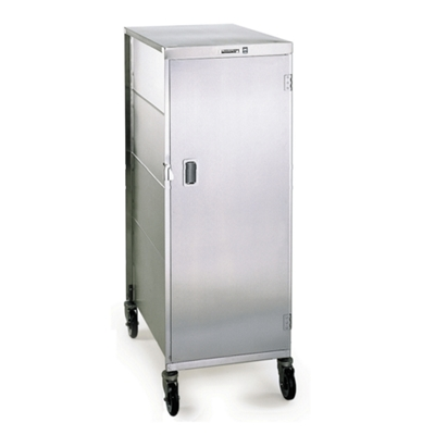 Compact 16 Tray Delivery Cart with One Door