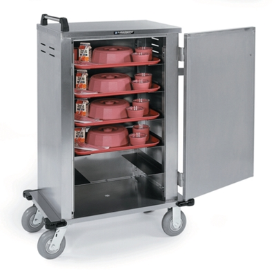 Stainless Steel 12 Tray Delivery Room Service Cart