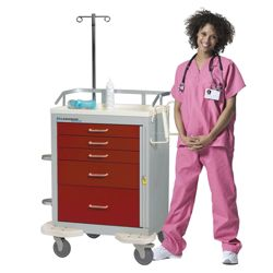 Emergency Cart with 4 Drawers
