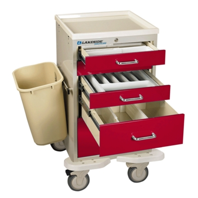5-Drawer Emergency Mini Cart