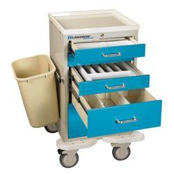 5 Drawer Mini Cart with Key Lock