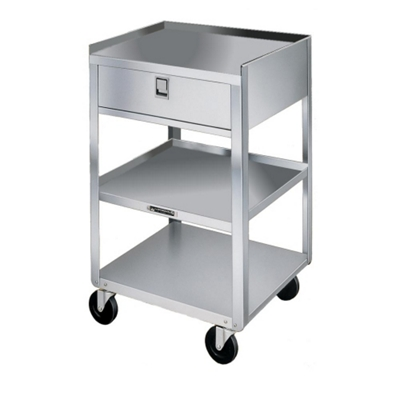"Lakeside 19""x17"" Mobile Equipment Stand with Drawe"
