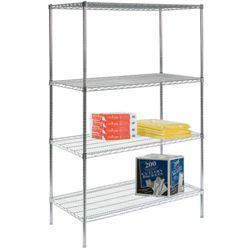 "Lakeside 48""W x 18""D x 72""H Wire Shelving Unit"