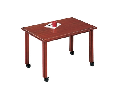 """Rectangular Conference Table with Casters - 60"""" x 36"""""""