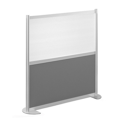 "52""W x 53""H Low Panel Wall Partition"