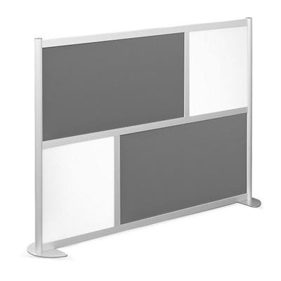 "76""W x 53""H Low Panel Wall Partition"