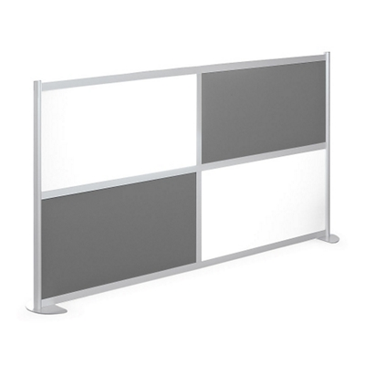 "100""W x 53""H Low Panel Wall Partition"