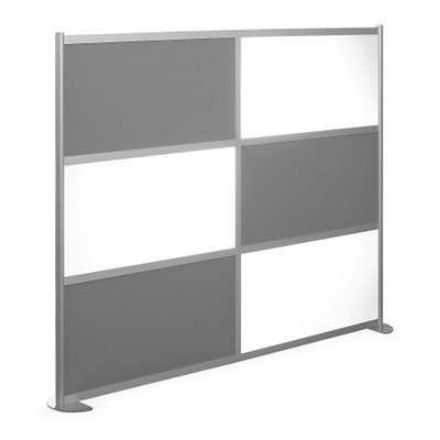 "100""W x 78""H High Panel Wall Partition"