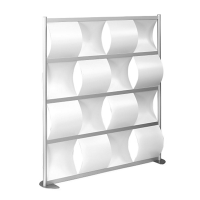 "100""W x 78""H Wave Panel Wall Partition"