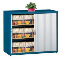 Three Shelf Tambour Door File Cabinet