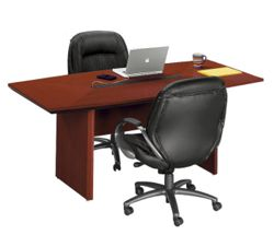 Boat Shape Conference Table - 7' x 3'6""
