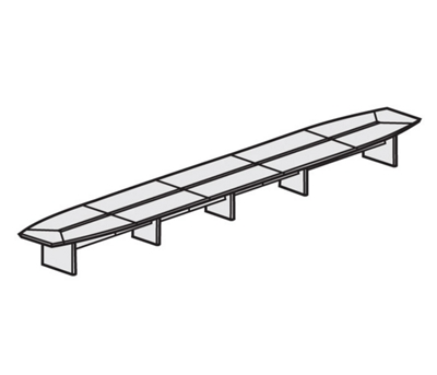 30' Conference Table