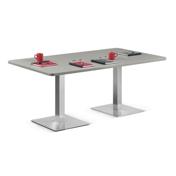 Standard Height Conference Table W And More Lifetime - Height of a conference table