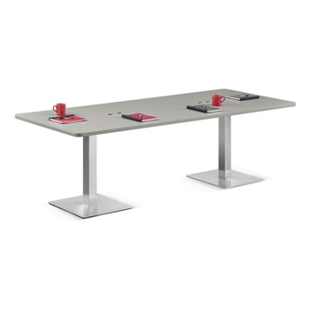 Standard Height Conference Table W And More Lifetime - Conference room table height