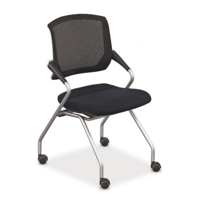 Mesh-Back Nesting Chair