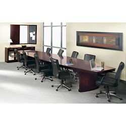 Panel Base Conference Table Set - 18'