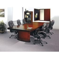 Panel Base Conference Table Set - 12'