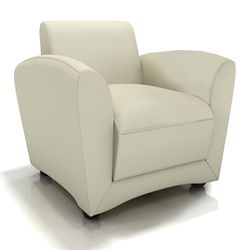 Leather Mobile Lounge Chair