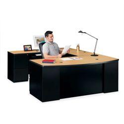 Bowfront U-Desk