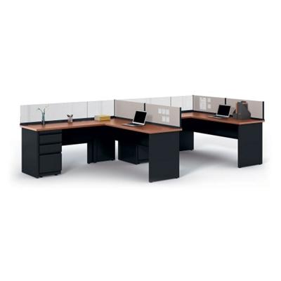 "Individual Corner Workstation - 72""W x 72""D"