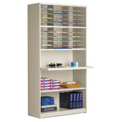 30 Pocket Multi-Function Mailroom Cabinet