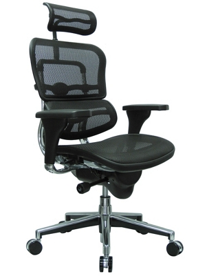 High Back Mesh Chair with Headrest 56507  sc 1 st  National Business Furniture & High Back Mesh Office Chairs | Shop Ergonomic Fabric Seat Desk ...