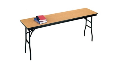"Narrow Folding Table - 18"" x 72"""