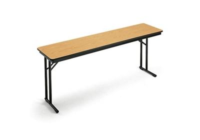 "Folding Seminar Table - 18"" x 60"""