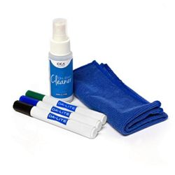Markers, Cloth and Cleaner