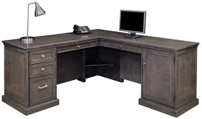 Statesman L-Desk with Right Return
