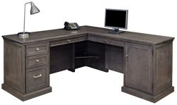 Statesman L-Desk with Right Return