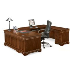 Pont Lafayette U-Desk with Right Return