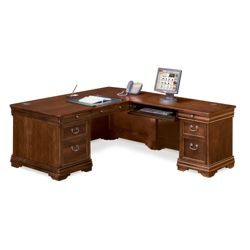 Pont Lafayette L-Desk with Right Return