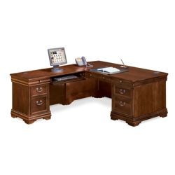 Pont Lafayette L-Desk with Left Return