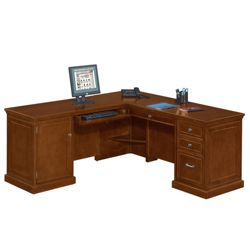 Statesman L-Desk with Left Return