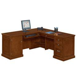 Statesman L-Shaped Desk with Left Return
