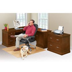 Statesman Right L-Desk Set