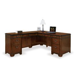 Kensington L-Desk with Left Return