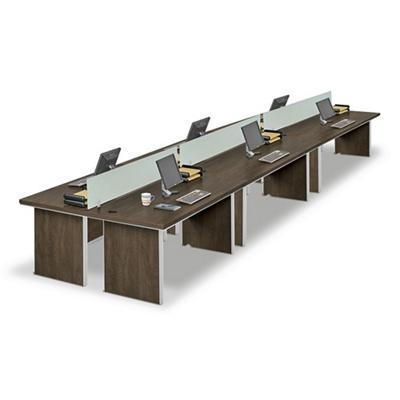 Metropolitan Six Desk Benching Set