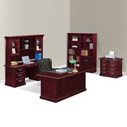 Cumberland Executive Desk Suite