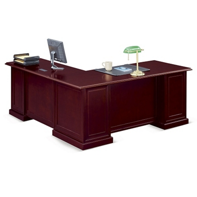 "Cumberland L-Desk with Right Return - 72""W"