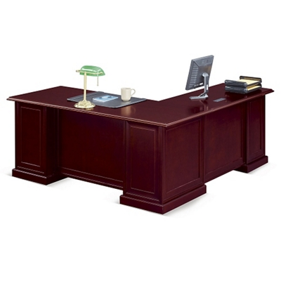 "Cumberland L-Desk with Left Return - 72""W"