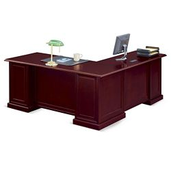 "Cumberland L-Desk with Left Return - 72""W"