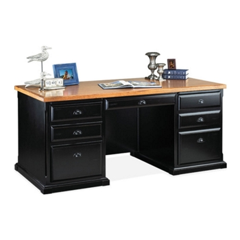 Black Executive Desk