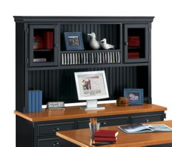 Distressed Black Hutch
